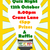 Quiz night Oct 12th
