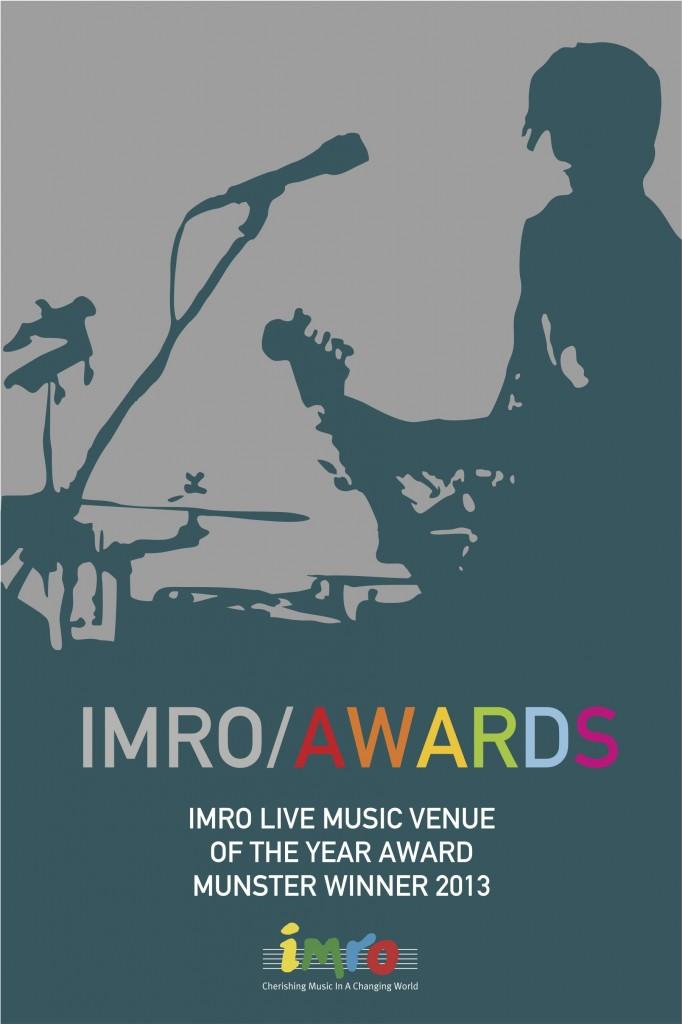 Winner of Best Live Music Venue in Munster